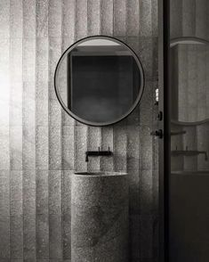 B.E Architecture «The B.E Architecture designed round mirror is deceptively simple, concealing several functions into…»