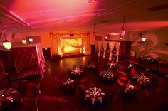 Bright red #event #decor