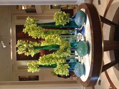 We love this weeks colorful floral display! #BWFlowers