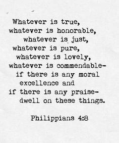 Philippines 4:8