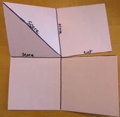 Pop Up Corner Card Diagram