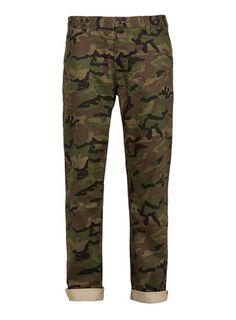 Skinny camo pants from TOPMAN USA