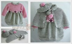 Crochet Baby, Girl Outfits, Winter Hats, Knitting, Sweaters, Pattern, American Girls, Clothes, Bb