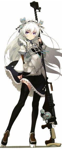Chaika Trabant (Hitsugi no Chaika) kawaii Manga Anime, Manga Girl, Character Concept, Character Art, Concept Art, Chaika The Coffin Princess, Hitsugi No Chaika, Otaku, Beautiful Anime Girl