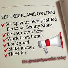 Join our team of Registered Oriflame Consultants and start living your dreams! Whether you are ready to work 24/7, or just looking to save some money, we are here to give you all the support you need to get started. And guess what, joining is FREE so you have nothing to lose. Leave a comment below or DM and let's get started!