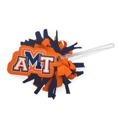 Pom Bag Tag from  http://www.schoolspiritstore.com/school-spirit-and-cheer-ideas/