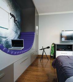 Chambre de skate Influence Design (designer d'intérieur montréal) I Les idées de ma maison