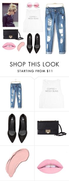 """MESSY TODAY"" by sweetlittlebunny on Polyvore featuring moda, Jimmy Choo, NYX i ZeroUV"