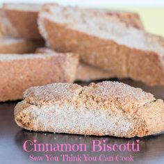 Cinnamon Biscotti fo