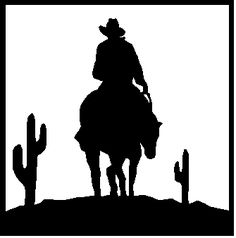 Western Clipart Black And White | Clipart Panda - Free Clipart Images