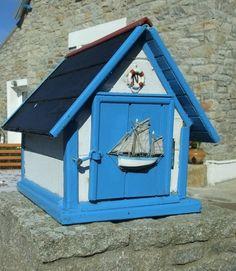Photo : Boite à lettres, France, Bretagne, Îles, Boîtes à lettres, Ile de sein. Toutes les photos de sur L'Internaute