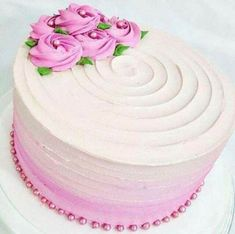 Birthday cake for women simple pink 21 Best Ideas Birthday cake for women simpl. Birthday cake for women simple pink 21 Best Ideas Birthday cake for women simpl… Birthday cake Birthday Cake For Women Simple, Birthday Cupcakes For Women, Pink Birthday Cakes, Buttercream Birthday Cake, Buttercream Cake Designs, Cake Decorating Designs, Cake Decorating Techniques, Bolo Laura, Simple Cake Designs
