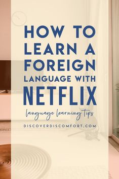It's fun watching a movie or TV series in a foreign language to help you study. There are a few fun ways to make the most of Netflix! We're sharing three things that we do (on top of just watching foreign TV shows/movies and using subtitles) | learn language with netflix | how to learn a language | learning a language | language activity | language learning tips | language learning | foreign language | language skill | learning languages tips | foreign language learning | #discoverdiscomfort Learning Languages Tips, Learning Apps, Ways Of Learning, Learning Spanish, Learning Resources, Learn Languages, Spanish Activities, Learning Italian, Korean Language Learning