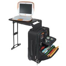 When Your Traveling Desk Laptop Suitcase