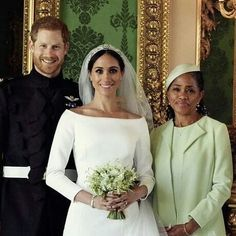 Henry, Meghan and Doria