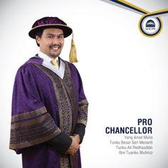 Pro Chancellor - Yang Amat Mulia Tunku Besar Seri Menanti Tunku Ali Redhauddin Ibni Tuanku Muhrizz