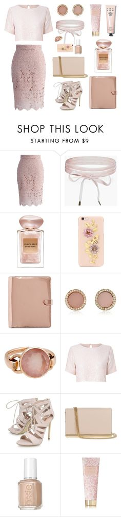 """Reconsider, please"" by agonyfeelsgood ❤ liked on Polyvore featuring Chicwish, Boohoo, Giorgio Armani, Dolce&Gabbana, Michael Kors, Poiray Paris, True Decadence, Carvela, Diane Von Furstenberg and Essie"
