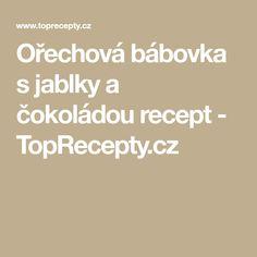 Ořechová bábovka s jablky a čokoládou recept - TopRecepty.cz