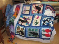 Alaska Quilt project on Craftsy.com
