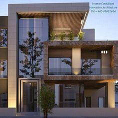 ✔ 39 new modern exterior design ideas for your house 1 > Fieltro.Net ✔ 39 new modern exterior design ideas for your house 1 Related House Front Design, Modern House Design, Modern House Facades, Facade Design, Exterior Design, Exterior Signage, Contemporary Architecture, Architecture Design, Innovative Architecture