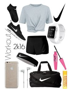 """Untitled #69"" by yougogogirl on Polyvore featuring NIKE, Case-Mate, T By Alexander Wang, Master & Dynamic and Burt's Bees"