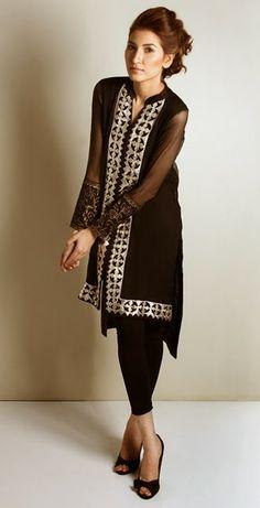 Kaam Asia Women's Silk Kurtas Collection-14 | Semi Formal Silk Kurtas Designs - Clothing9 | Fashion  Lifestyle Blog