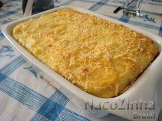 Bolo de batata com carne moída é um prato simples, fácil, gostoso, que cai no agrado geral. Merece ir para a mesa de vez em quando. Ah, merece!