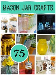 75 Mason Jar Craft; The original roundup from @savedbyloves