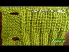 ▶ Cómo tejer ojales. TEJIDO en DOS AGUJAS # 31 - YouTube
