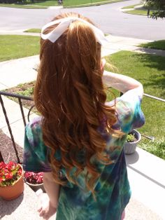 This is my sisters wonderful, beautiful hair! I did it this morning, and it came out SO cute♥ Inspired my Gabi DeMartino!