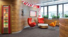 Coca-Cola GmbH, Wien  Architekt: Inter-Pool Immobilien GmbH, Möbel: Bene #office #büro