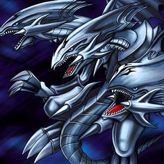 Yu Gi Oh. Blue-Eyes Ultimate Dragon.