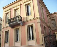 Old Greek, Neoclassical Architecture, Villa, Athens, Palazzo, Townhouse, Sweet Home, Exterior, Mansions