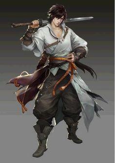 sasuke uchiha, swordsman
