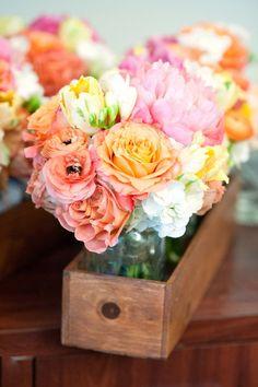 mariage, wedding, decoration, fleurs, flowers