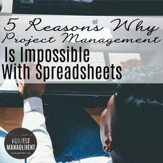 Learn why managing projects is impossible with spreadsheets and why it's worth investing in other tools as well. investment, investing