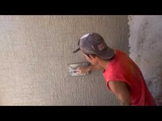 Como enjarrar o aplanar una pared (1ra parte) - YouTube