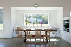 sunroom in the Nanaimo house - why couldn't this work instead?    modern dining room by ZeroEnergy Design