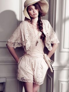 Lace shorts / wrap by Hoss Intropia