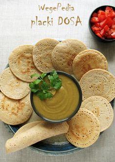 Indyjskie placki dosa z ryżu i soczewicy - prosty przepis Raw Food Recipes, Appetizer Recipes, Cooking Recipes, Healthy Recipes, Free Recipes, Healthy Food, Appetizers, Sugar Free Vegan, Good Food