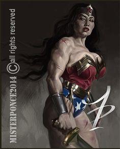 Wonderwoman by Misterponce