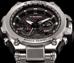 G-Shock MT-G Metal Twisted Stylish look from G-Shock with all the usual features, what do you guys think? Stylish Watches, Cool Watches, Watches For Men, Men's Watches, G Shock Watches, Dream Watches, Luxury Watches, G Shock Men, Shopping