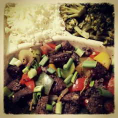Black Pepper Beef -- Real Paleo