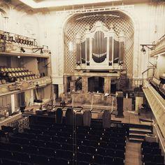 """Salle Gaveau en travaux pour le spectacle musical """"Oliver Twist"""" Photo de Prisca Demarez"""