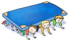 The turtle game to promote social skills Velcro daycare Die Schildkröte Spiel zur Förderung der Sozialkompetenz Kids Gym, Yoga For Kids, Gross Motor Activities, Gross Motor Skills, School Sports, Kids Sports, Games For Kids, Activities For Kids, Portfolio Kindergarten