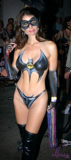 Batgirl Body Paint