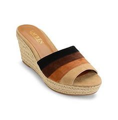 """Lauren Ralph Lauren® """"Karlia"""" Slide Sandals"""