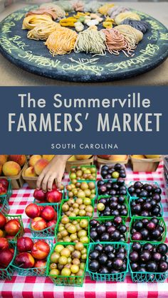 Join us at the Summerville Farmers' Market in the lowcountry of South Carolina for local food finds!