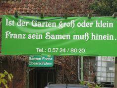 Gärtnerpoesie