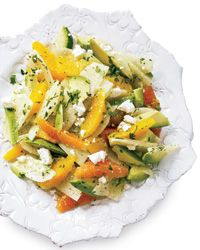 Avocado, Orange, and Jicama Salad.  It's from Food & Wine website and they recently posted 15 summer salad recipes.  Yum!